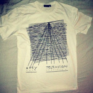 Grey Television Merchandise T-shirt #1